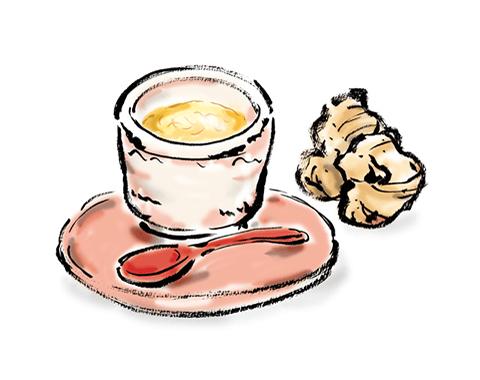 温かい飲み物のイメージ