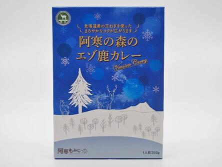 北泉開発 株式会社「阿寒の森のエゾ鹿カレー」